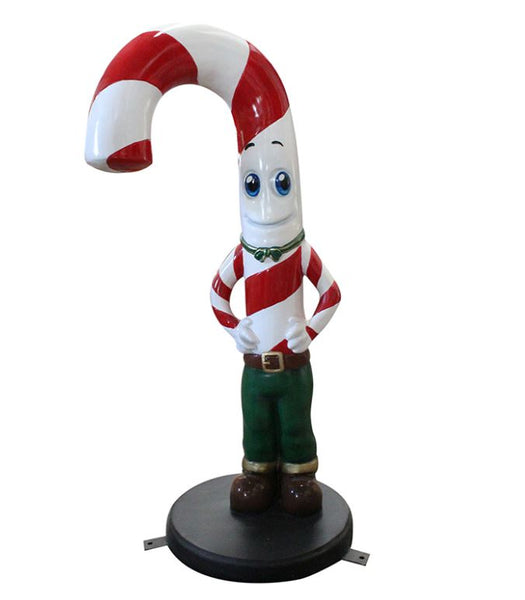 Candy Cane Husband - LM Treasures Life Size Statues & Prop Rental