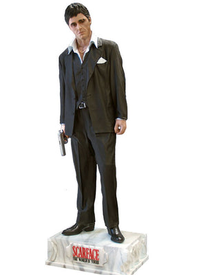 Scarface Gangster Tony Montana Rare Life Size Statue- LM Treasures