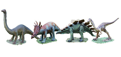 Dinosaur Babies Prehistoric Prop Resin Statue (Set of 4 )- LM Treasures