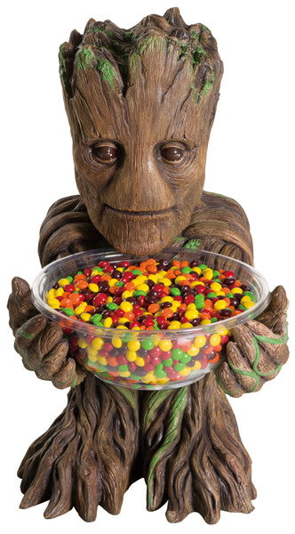 Candy Bowl Holder Marvel Gardens Of The Galaxy Groot Half Foam Licensed Statue - LM Treasures Life Size Statues & Prop Rental