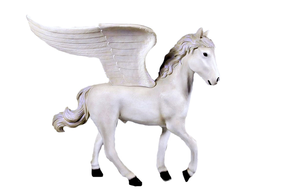 Baby Pegasus Life Size Statue - LM Treasures Life Size Statues & Prop Rental