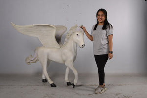 Baby Pegasus Life Size Statue - LM Treasures