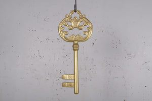 Gold Key Over Sized Statue - LM Treasures