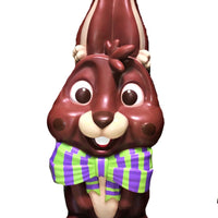Giant Chocolate Easter Bunny Over Sized Statue - LM Treasures Life Size Statues & Prop Rental