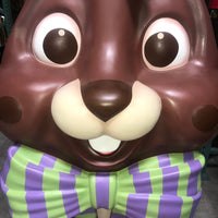 Giant Chocolate Easter Bunny Over Sized Statue - LM Treasures