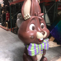 Chocolate Candy Easter Bunny Over sized Display Resin Prop Decor Statue - LM Treasures Life Size Statues & Prop Rental