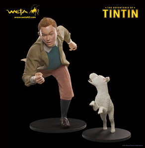 The Adventure of Tintin Life Size Statue Set of 3 - LM Treasures