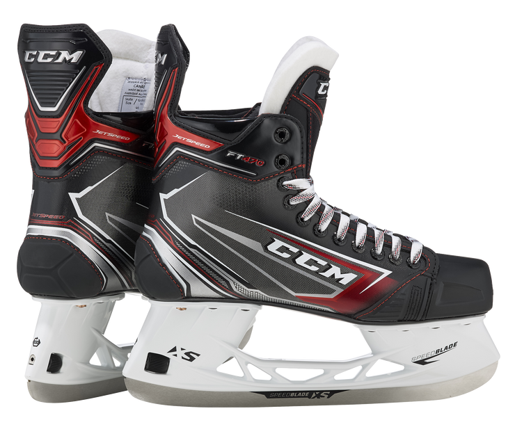 CCM Jetspeed FT470 Skates-Junior