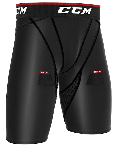 CCM Compression Jock Short-Junior