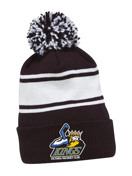 CCM Knit Fleece Pom Toque-VRC Kings Logo