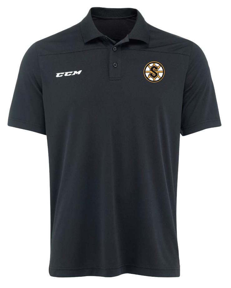 CCM Team Polo Shirt-Grandview Steelers