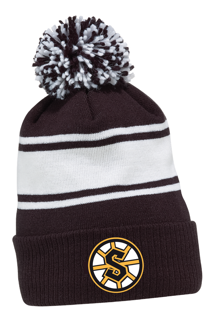 CCM Knit Fleece Pom Toque-Grandview Steelers