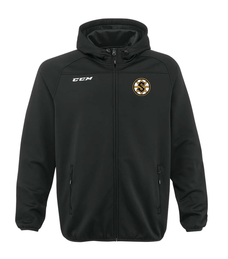 CCM Full Zip Hoody-Grandview Steelers