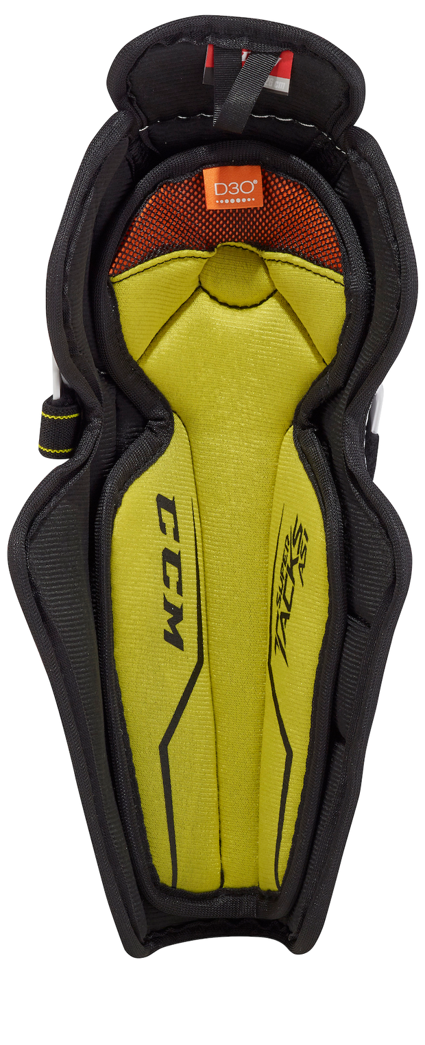 CCM Super Tacks AS1 Shin Pad-Youth