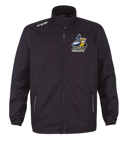 CCM LightWeight Rink Suit Jacket-VRC Kings Logo