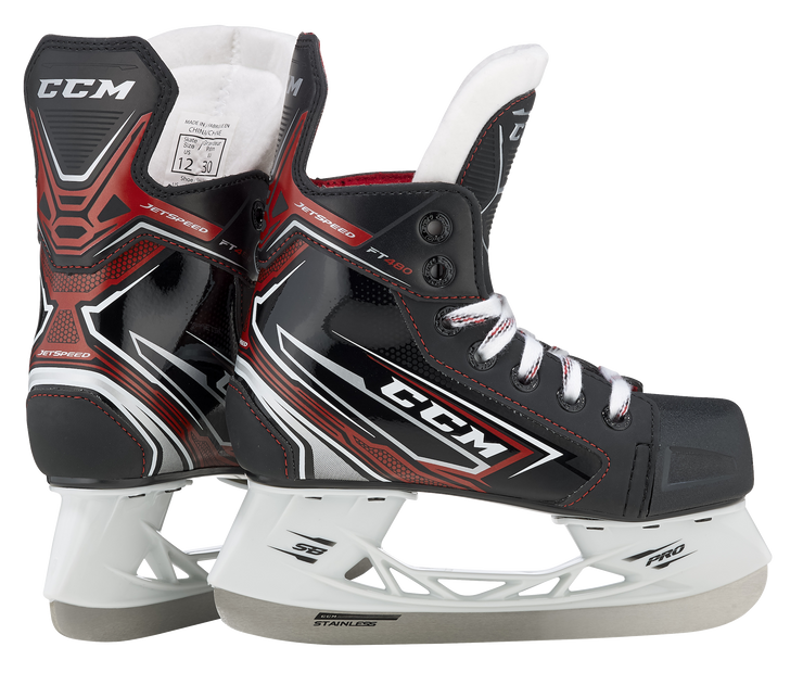 CCM Jetspeed FT480 Skates-Youth