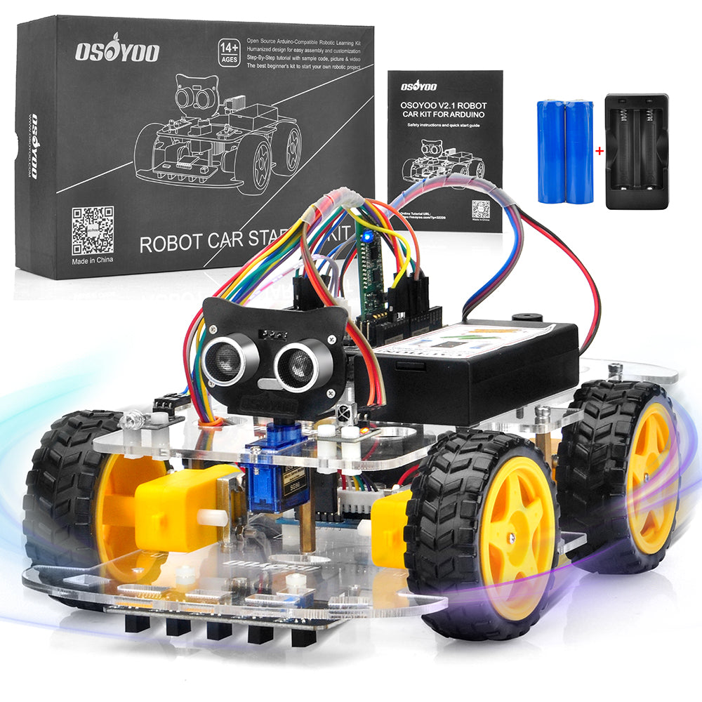 Parts for Arduino Robot Car V2.1 Model#2019012400