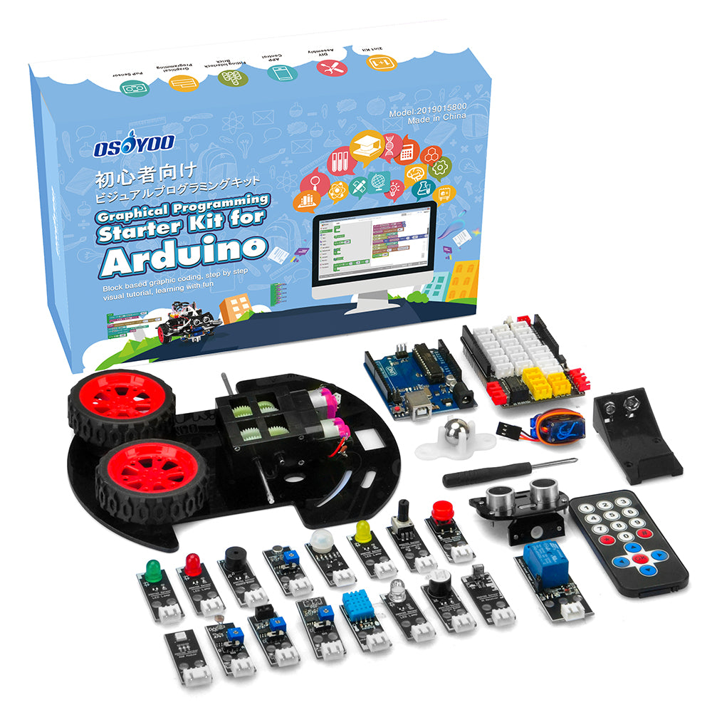 Parts for Arduino Graphical Programming Kit Model#2019015800