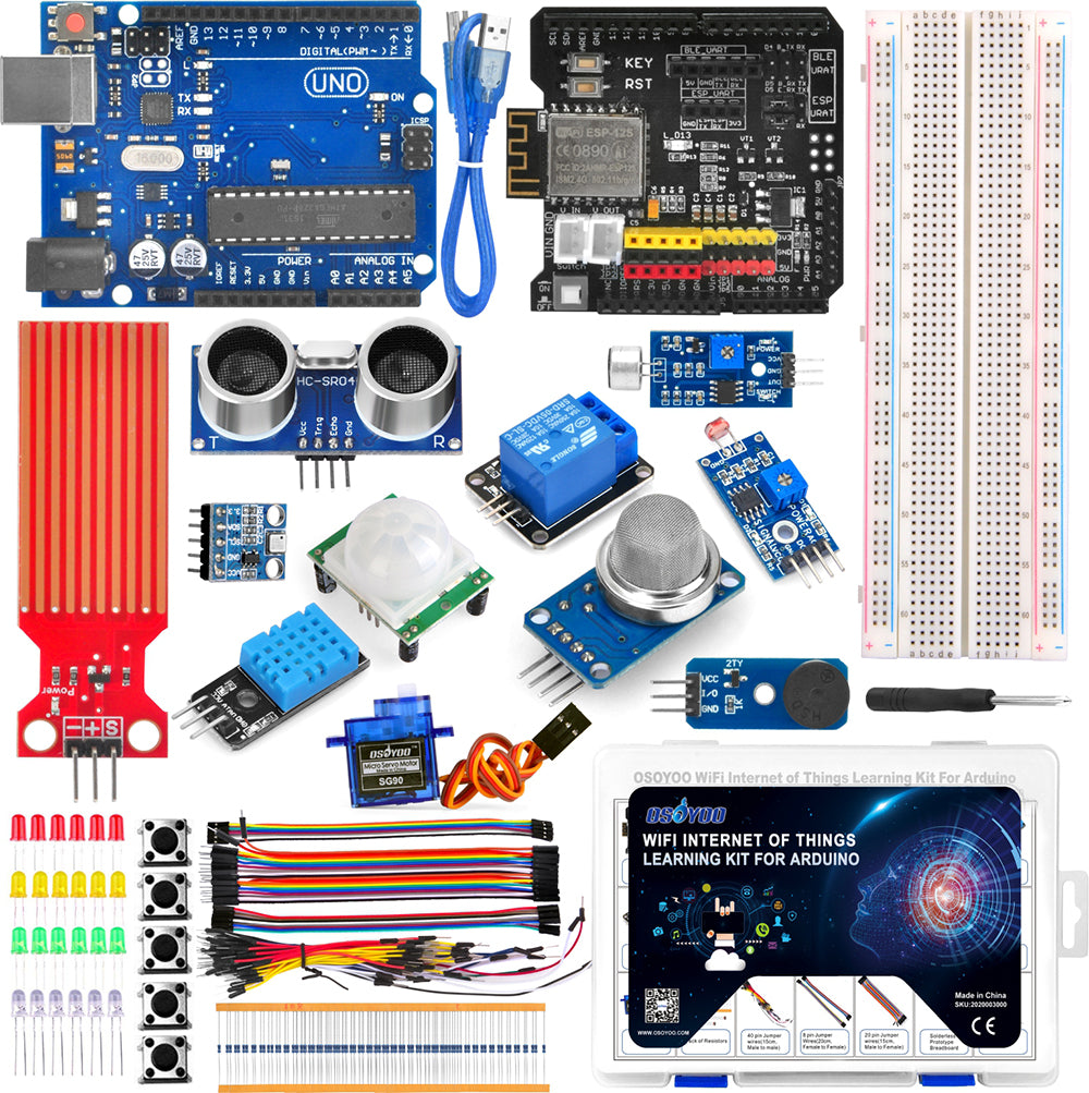 Parts for ESP8266 IOT Kit Model#2020003000