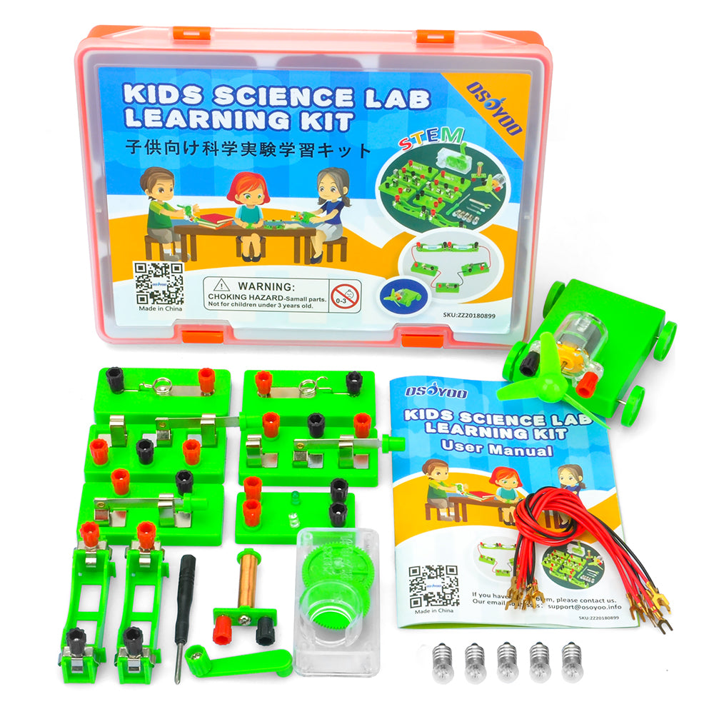 Parts for OSOYOO Science Project Learning Kit