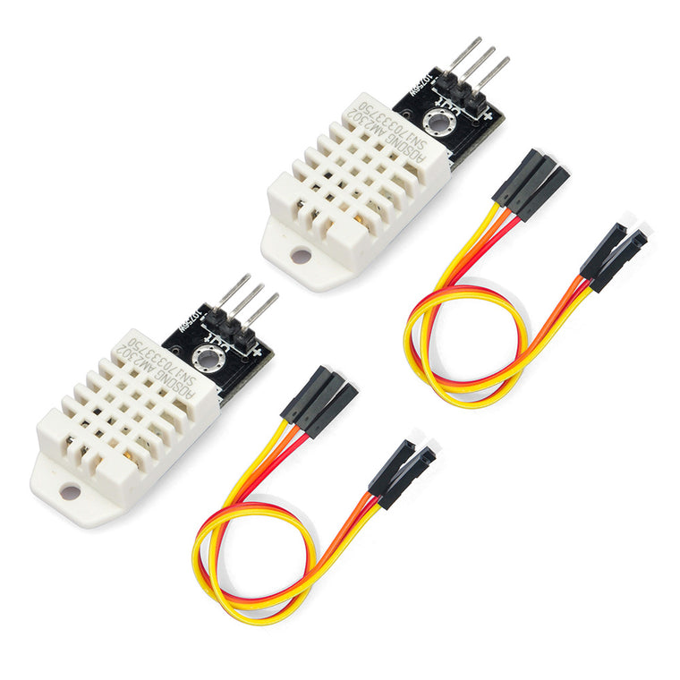 2 PCS DHT22 Temperature Humidity Sensor Module Digital Measurement for Arduino Raspberry Pi 2 3