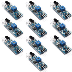 OSOYOO 10PCS IR Infrared Obstacle Avoidance Sensor Module for Arduino Smart Car Robot