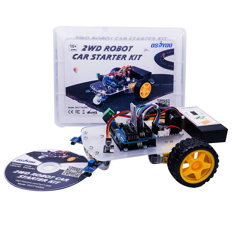 Raspberry Pi Robot Car learning kit by Osoyoo