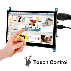 7 Inch Touch Screen TFT LCD Display HDMI 1024x600 Driver Free for Raspberry Pi,Computer,TV Box,DVR,Game Device