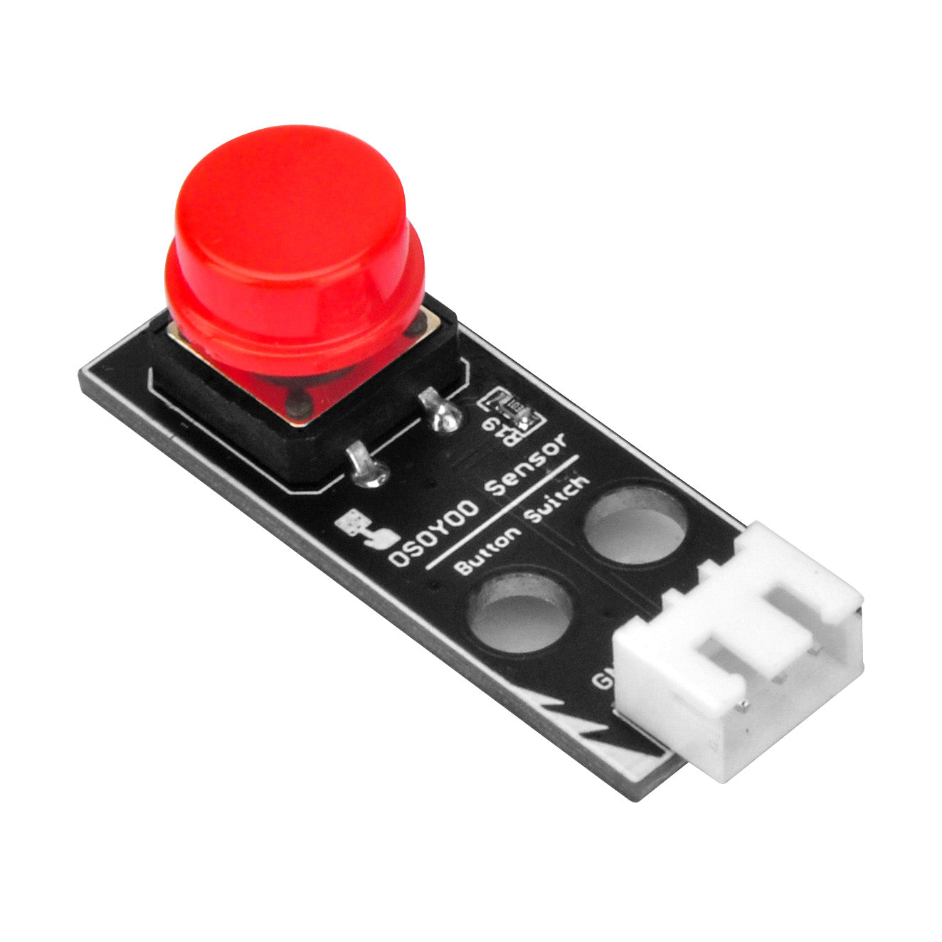 Red button module for OSOYOO STEM Kit for Micro:bit (model#2019011500)