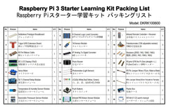 OSOYOO Raspberry Pi 3 Zero W DIY Basic Starter learning Kit 2019 Updated For Beginners