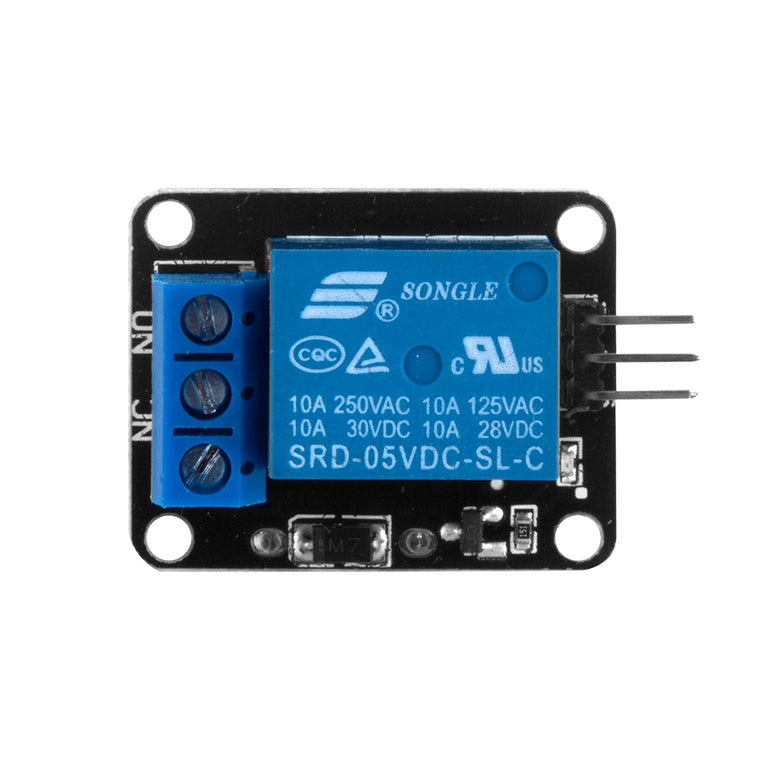 Single channel Relay module for arduino raspberry pi