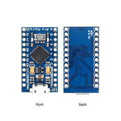 OSOYOO Pro Micro ATmega32U4 5V/16MHz Module Board with 2 Row pin Header for arduino Leonardo Replace ATmega328 Pro Mini