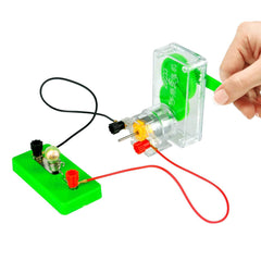 OSOYOO Science Learning kit,Electricity and Magnetism Experiment Set,Building Circuits,for Students in Grades 3-9