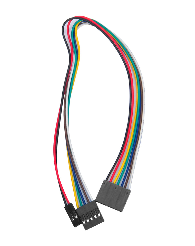 7pin 25cm Female to Female Cable for 5-Channel Tracking Module