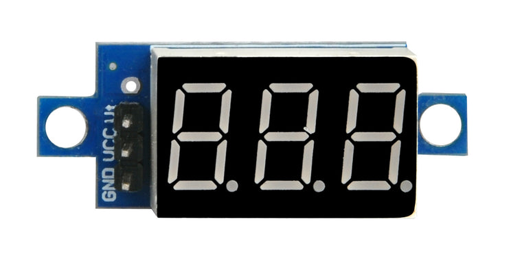 Voltage meter for Arduino V2.0 Robot Car(model#2017005300)