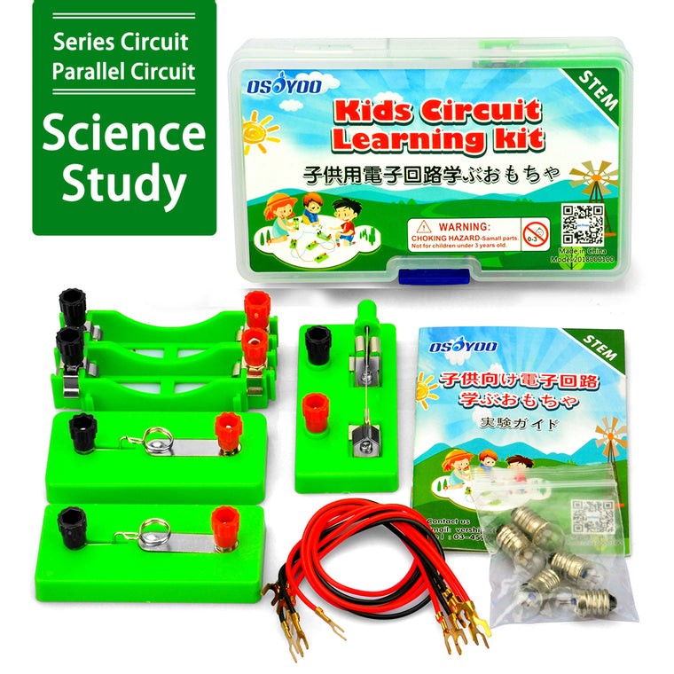 Kids Circuit Learning Kit for Science study,OSOYOO