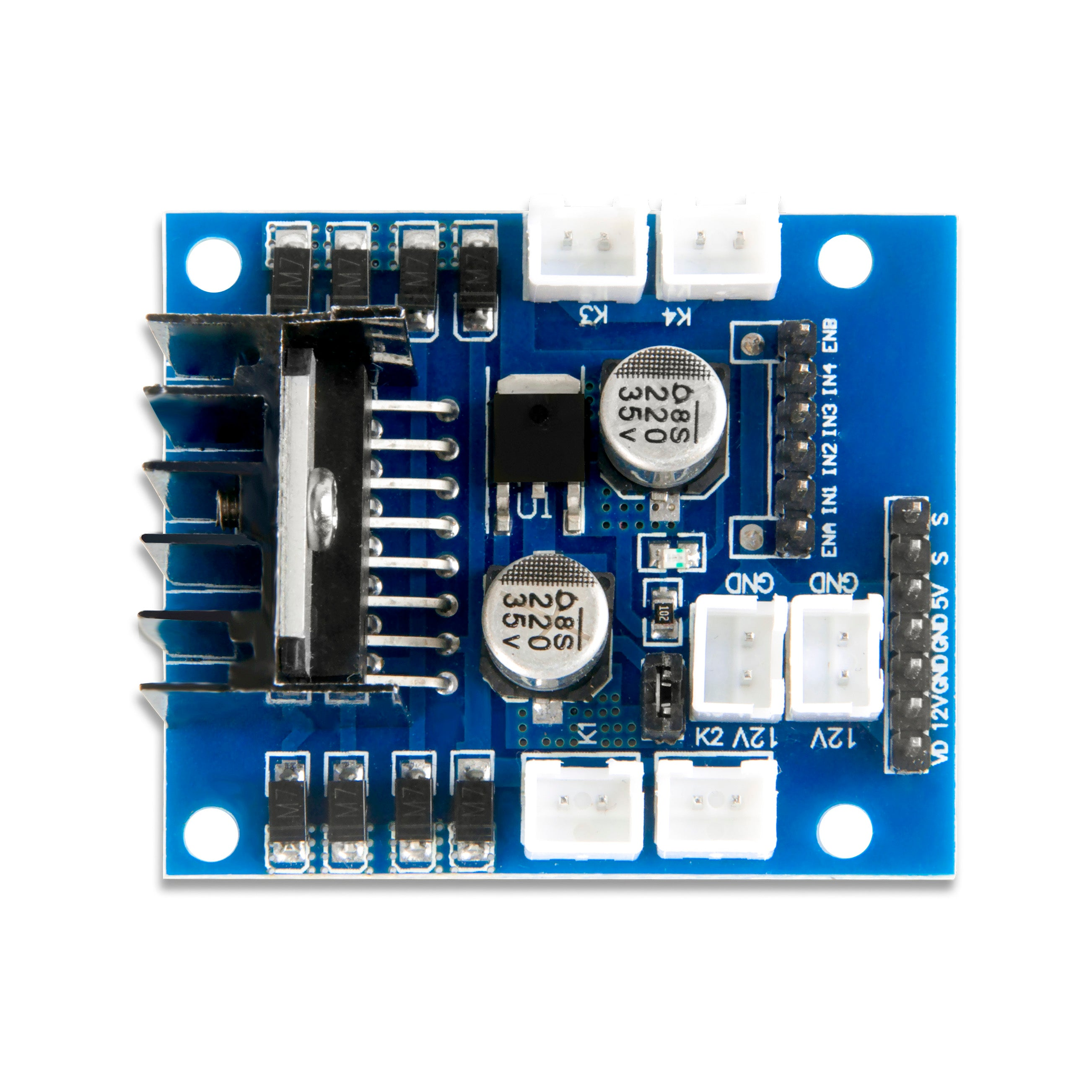OSOYOO Model-X Motor Driver Module for Arduino V2.0 Robot Car(model#2017003700)
