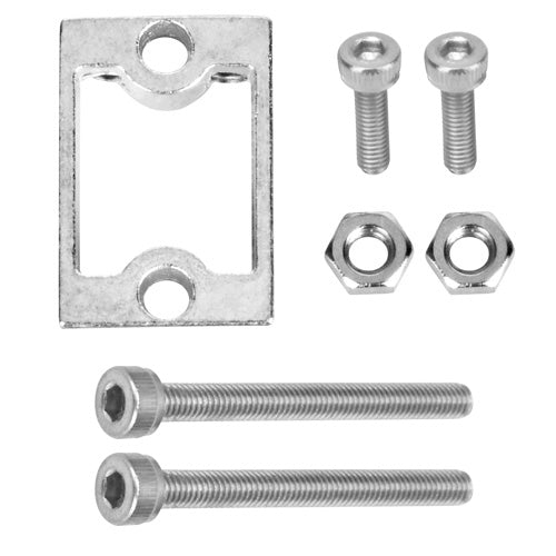 Metal Motor Holders with screws for TT motor (Model: 2017010900)