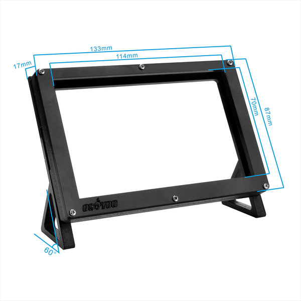 OSOYOO Protective Case Stand Holder for Raspberry Pi 4 3 3B+ 2 5 Inch DSI Touch Screen LCD Display
