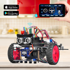 OSOYOO Model 3 V2.0 Robot Car DIY Starter Kit for Arduino (model No. 2020001700 )