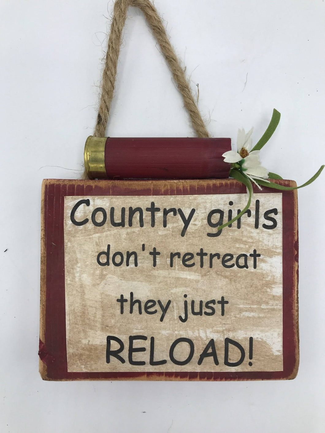 Country Girls Rustic Sign