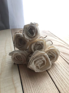 Raggedy Rose clothespin