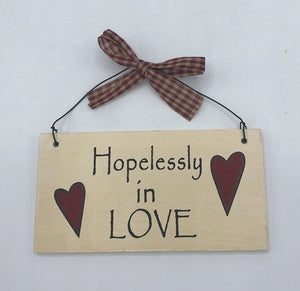 """Hopelessly in love"""