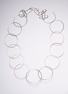 STERLING LARGE CIRCLE CHAIN