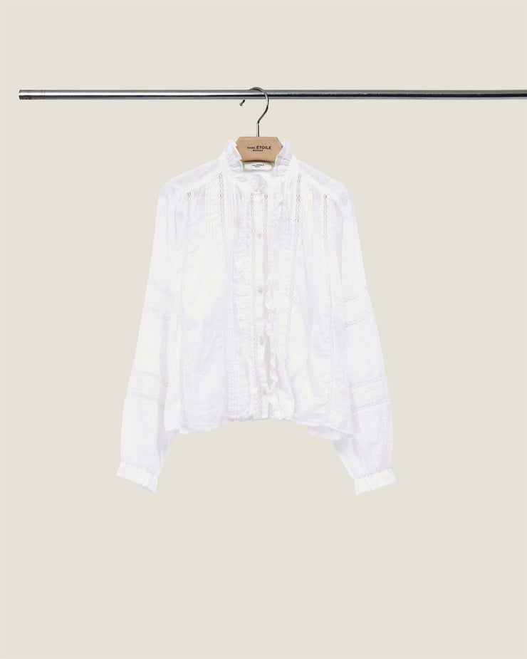 Valda Shirt White