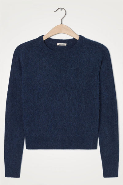 Nuasky Pullover Navy Chine