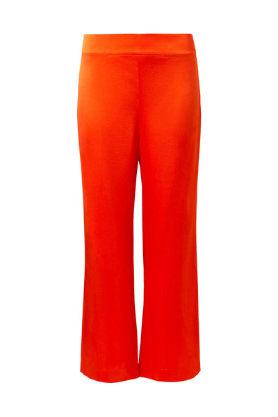 Gagnes Silk Pants Hot Tangerine