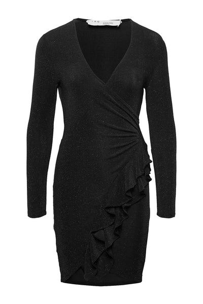 Hime Dress Black Lurex