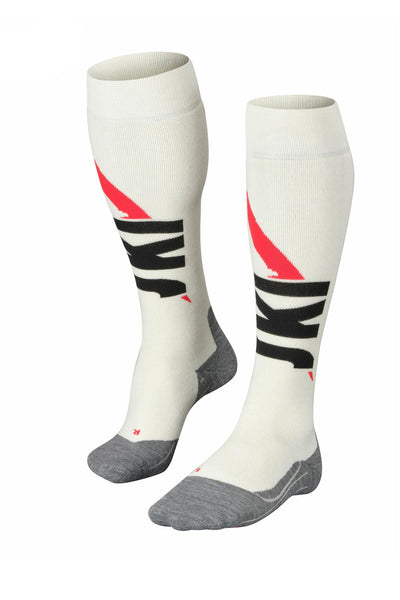 Women's White Knee High Socks 125 Years