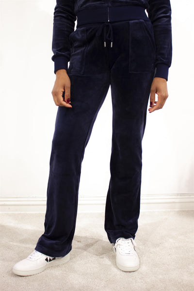 Del Ray Luxe Velour Pant Night Sky